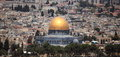 Dome of the Rock from the Dominus Flevit
