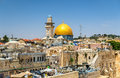 The Dome of the Rock in Jerusalem Royalty Free Stock Photo