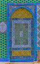 Dome of the Rock mosaic detail Royalty Free Stock Photo