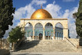Dome of the Rock mosque. Jerusalem, Israel. Royalty Free Stock Images