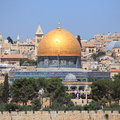 The Dome of the Rock from Mount of Olives