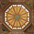 Dome roof at Royal Exhibition Royalty Free Stock Images