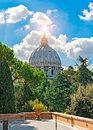 Dome of san pietro Royalty Free Stock Photo