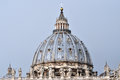 The dome of the San Pietro basilica, Vatican Royalty Free Stock Photo