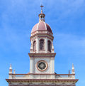 Dome of Santa Cruz Catholic Church Royalty Free Stock Photography