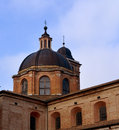 Dome of santa maria assunata in italy urbino Royalty Free Stock Images