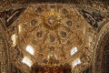 Dome of Santo  Domingo church in Mexico Royalty Free Stock Images