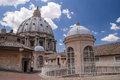 Dome of st peter s basilica with sky Royalty Free Stock Photography