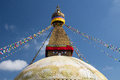 Dome stupa this is the world s largest pagoda located in kathmandu of nepal bodhnath Stock Image