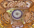 Dome of the Sultanahmet Mosque Royalty Free Stock Photo