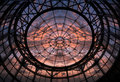Dome and Sunset Royalty Free Stock Photos