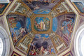 Dome in Vatican Museum Royalty Free Stock Photo