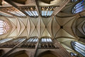 Dome vault of gothic Dom in Cologne Stock Images