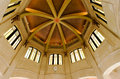 Dome in vista house beautiful historic the columbia river gorge oregon Royalty Free Stock Photo