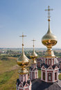 Domes Church  Flora and Lavra Royalty Free Stock Photography