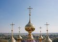 Domes Church  Flora and Lavra, city Suzdal Royalty Free Stock Photo