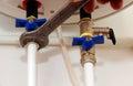 Fixing Plumbing Under Kitchen Sink Valve