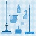 Domestic tools set