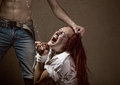 Domestic Violence Stock Photography