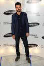 Dominic cooper arrives for the samsung galaxy gear and galaxy note uk launch at the me hotel london picture by steve vas Royalty Free Stock Photos