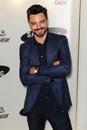 Dominic cooper arrives for the samsung galaxy gear and galaxy note uk launch at the me hotel london picture by steve vas Stock Photos