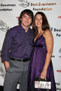 Dominic zamprogna fiance evening with the stars celebrity gala for the desi geestman foundation gilmore adobe at farmer s market Royalty Free Stock Images