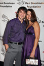 Dominic zamprogna fiance evening with the stars celebrity gala for the desi geestman foundation gilmore adobe at farmer s market Royalty Free Stock Photography