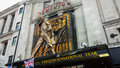 Dominion theatre in london view at žtheatre it was opened at and now is host of famous we will rock you musical Stock Photo