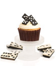 Domino Cupcakes Royalty Free Stock Image