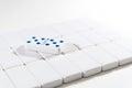 Dominoes - double 5 five