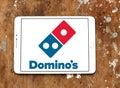 Dominos pizza logo Royalty Free Stock Photo