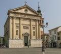 Domus dei et porta coeli cittadella veneto italy Royalty Free Stock Photos