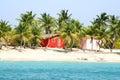domy karaibów Fotografia Stock