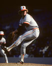 Don stanhouse baltimore orioles reliever image taken from color slide Stock Images