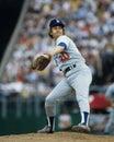 Don sutton los angeles dodgers pitcher image taken from color slide Stock Image