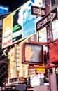 Don't walk New York traffic sign Royalty Free Stock Photo