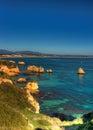 Dona Ana beach Royalty Free Stock Photo