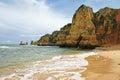 Dona ana beach lagos portugal in algarve Stock Image