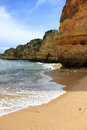 Dona ana beach lagos portugal in algarve Royalty Free Stock Image