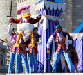 Donald duck at disneyworld on stage disney s magic kingdom in orlando florida Royalty Free Stock Photos