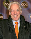 Donald sutherland abc tv tca party wind tunnel pasadena ca january Royalty Free Stock Images