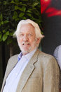Donald sutherland cannes france may attends the hunger games mockingjay part photocall at the th annual cannes film festival on Royalty Free Stock Image