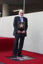 Donald sutherland los angeles jan at the walk of fame star ceremony at hollywood blvd on january in los angeles Royalty Free Stock Images