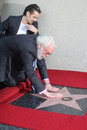 Donald sutherland at the star on the hollywood walk of fame ceremony hollywood blvd hollywood ca Stock Photography