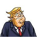 Donald Trump Smiling Face