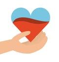 Donation blood design