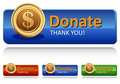 Donation box. Royalty Free Stock Photography