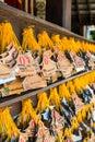 Donation Label at Cherntawan International Meditation Center Royalty Free Stock Photo