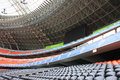 Donbass arena football stadium on april in donetsk ukraine euro matches held here Stock Photography