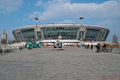 Donbass-arena stadium Royalty Free Stock Photos